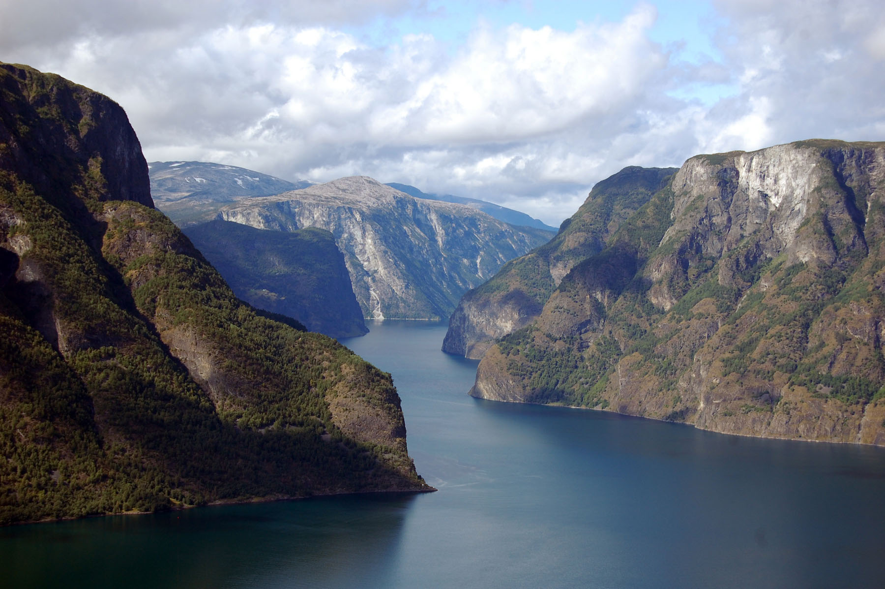 Norway's spectacular fjords are worth the price of traveling here.